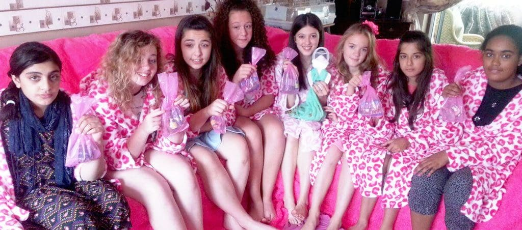 Cherry Pamper Parties mini spa