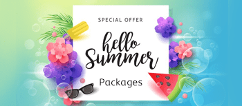 Summer Pamper Packages